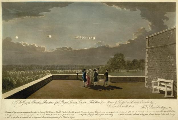 18.August 1783,9.45 Uhr,Windsor Castle,England